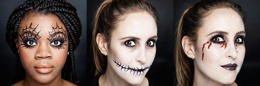 Halloween makeup made EASY with these step-by-step guides http://t.co/hmsHIBabi4 http://t.co/GUK1a3uXad