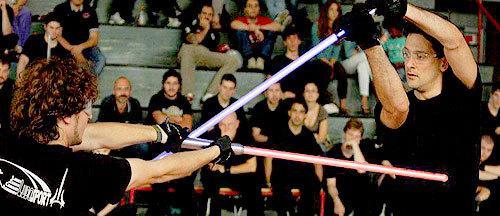 Learn the Art of Lightsaber Combat at LudoSport International http://t.co/doAMTVOAah http://t.co/1AYG6u5b5X