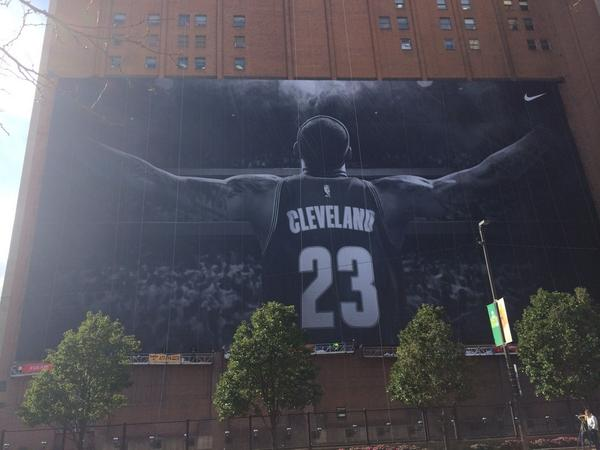 It's finished. Welcome home, @KingJames. #AllForCLE http://t.co/RlT5MvE3NF