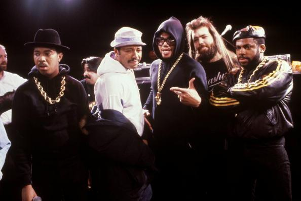 RIP to one of the illest to ever do it #JamMasterJay. (From left: Run, me, DMC, Rick Rubin & Jam Master Jay) #tbt http://t.co/daSh5EOE0c