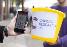 No loose change? You can now pay a charity by focusing your camera on charity's logo... http://t.co/kA5QpEWICE http://t.co/K5ItI2TVUZ