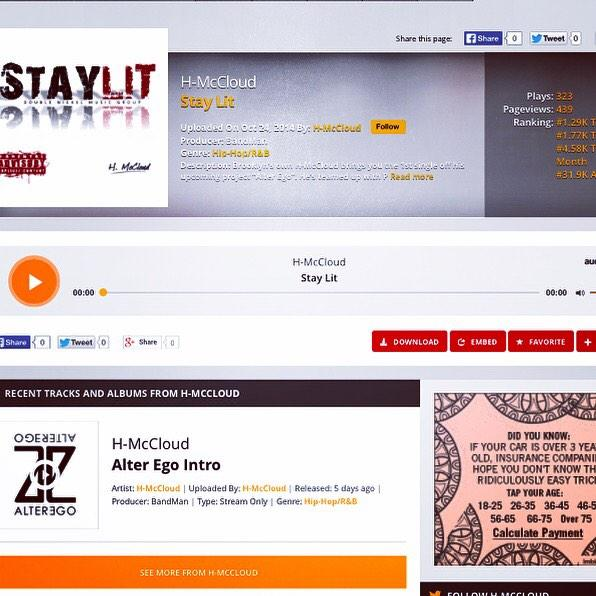 Stay Lit from H-McCloud - Listen & Download @audiomack http://t.co/AysP7wqJZJ http://t.co/9EnGuAeoto
