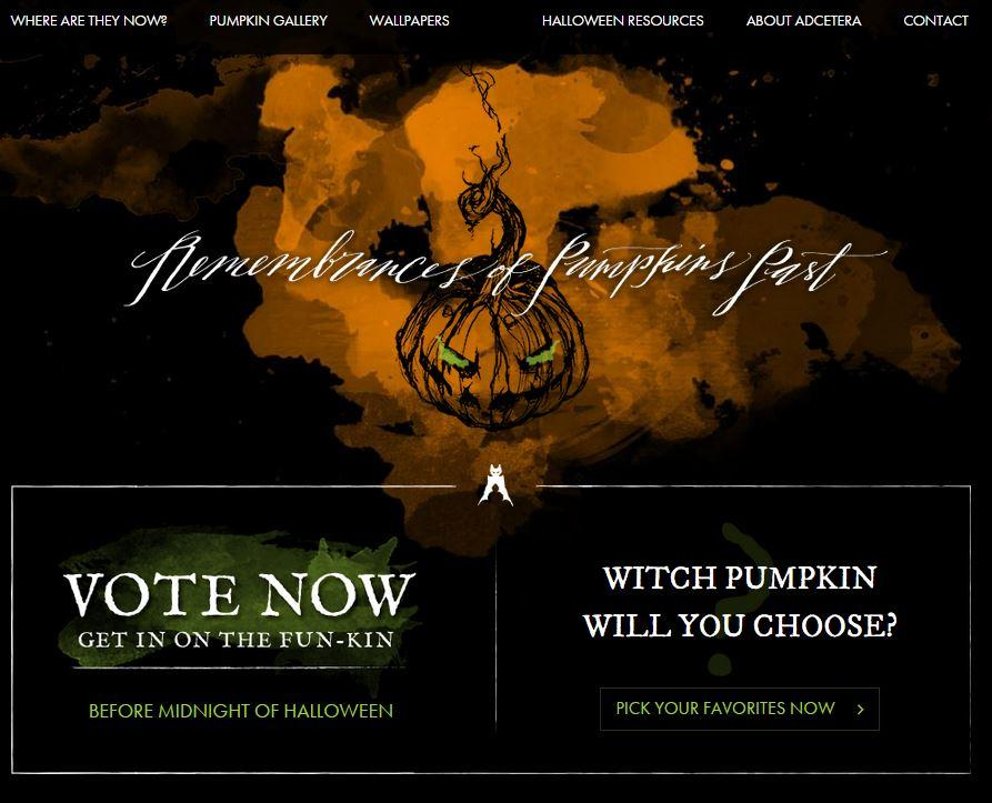 http://t.co/avj8pqciT1 is up! Time to vote on your favorite pumpkins! http://t.co/WhLqfsVndb