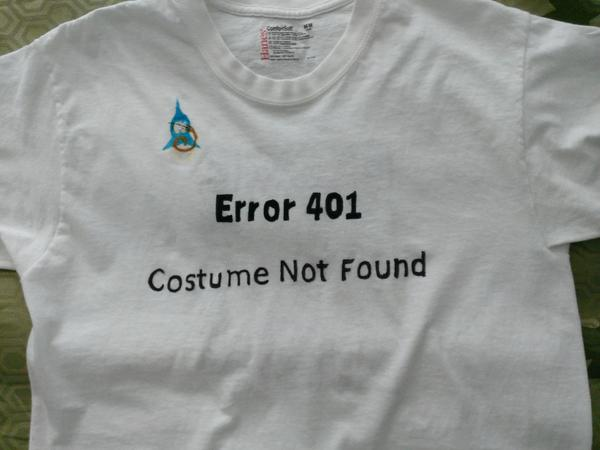Kerinova Error Costume