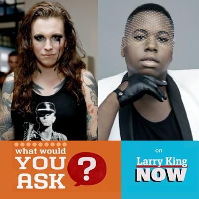 Larry king and transgender