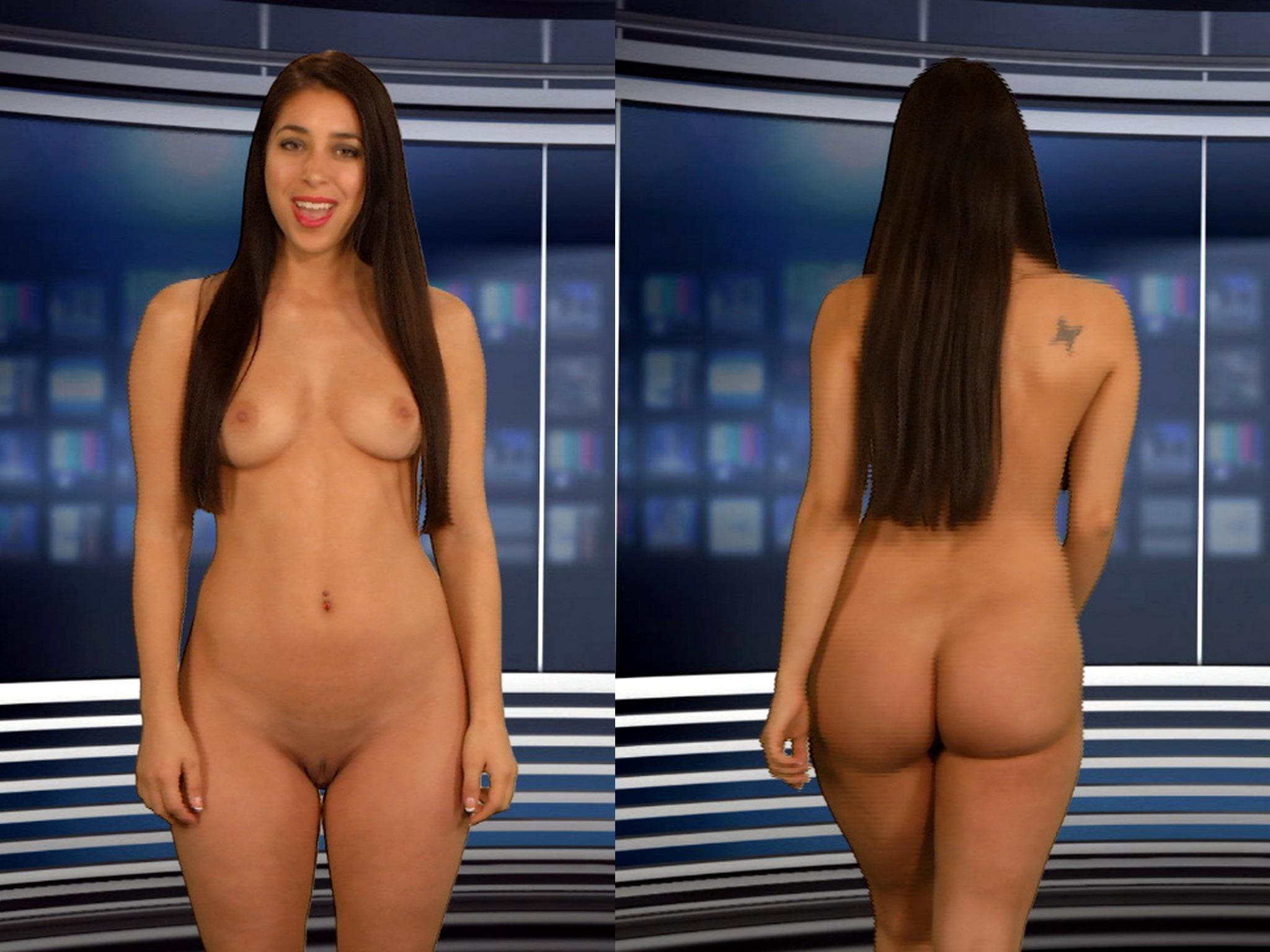 Naked News On Twitter Did You Know Our Isabella Rossini Has An Award Winning Backside See For Yourself On Todays Show T Co Akellbrtp