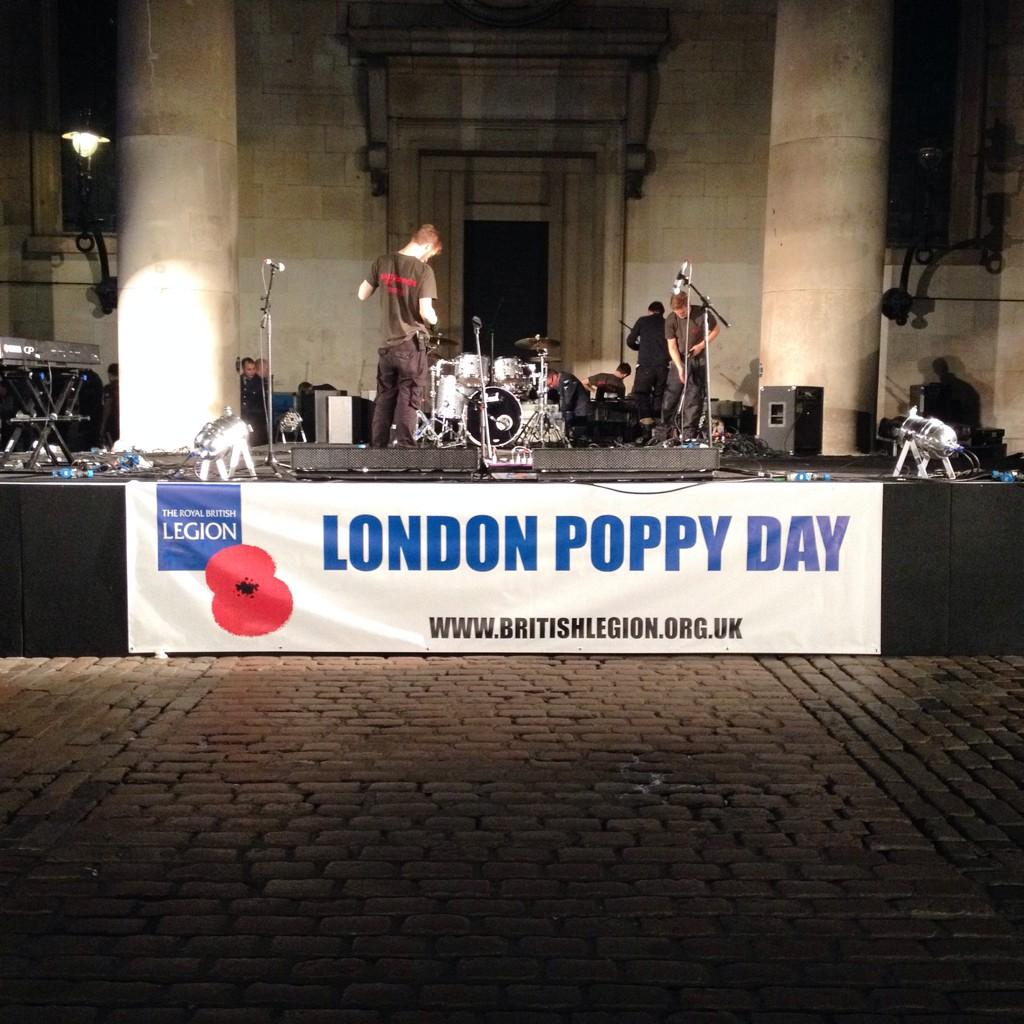 RT @PoppyLegion: #LDNPoppyDay gives everyone in the capital the chance to say thank you to all who serve. What an incredible day! http://t.…