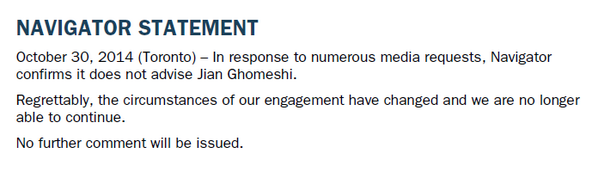 From Navigator, re: Ghomeshi http://t.co/q8SIebcXpx