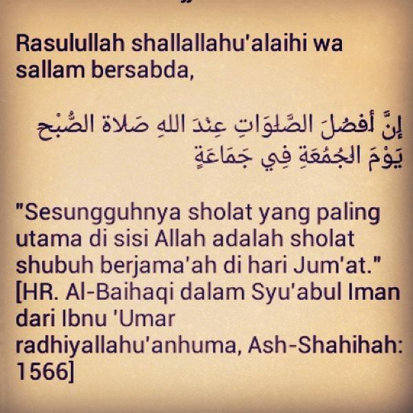 Wallpaper Islami A Twitteren Sholat Subuh Berjamaah Di