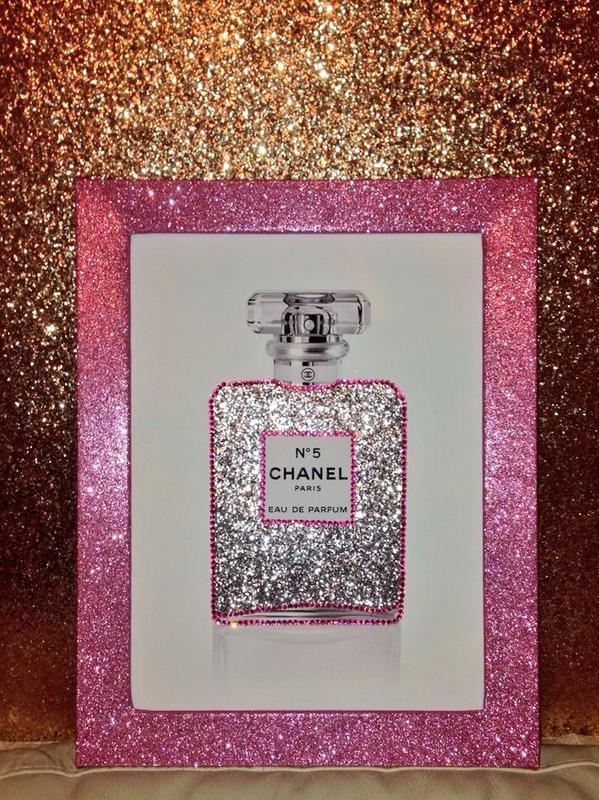Glitter Walls Uk On Twitter Quot Stunning Chanel Chanelno5
