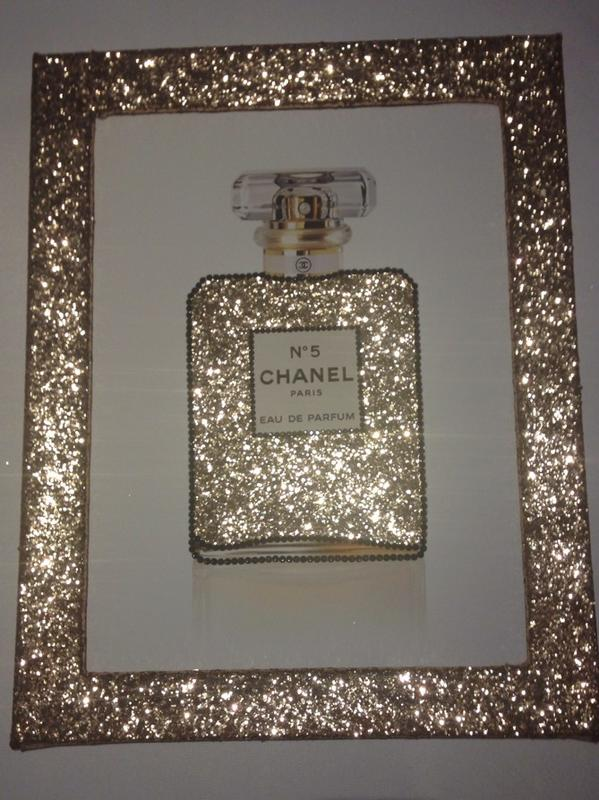 Glitter Walls Uk On Twitter Quot Stunning Chanel Chanelno5