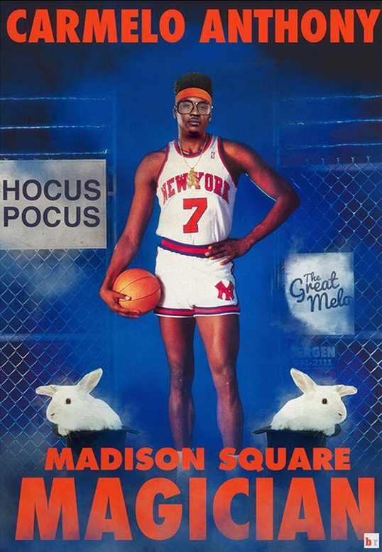 Vintage posters remade current NBA stars | Bleacher Report