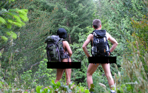 June 21 - Hike Naked Day and the Never-Nudes
