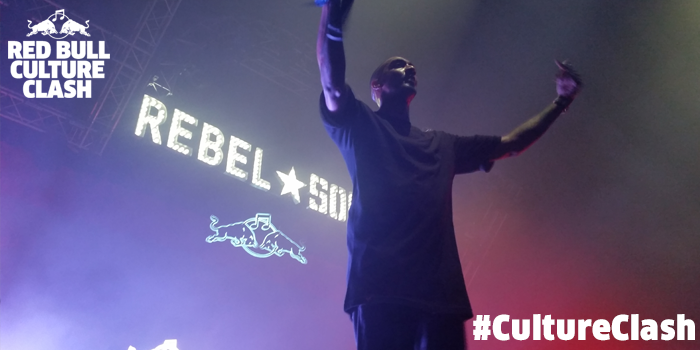 RT @RedBullUK: Your #CultureClash 2014 winners are the mighty Rebel Sound http://t.co/HlLPhk7Zlv #TeamRebelSound http://t.co/VNXqOfTgvo