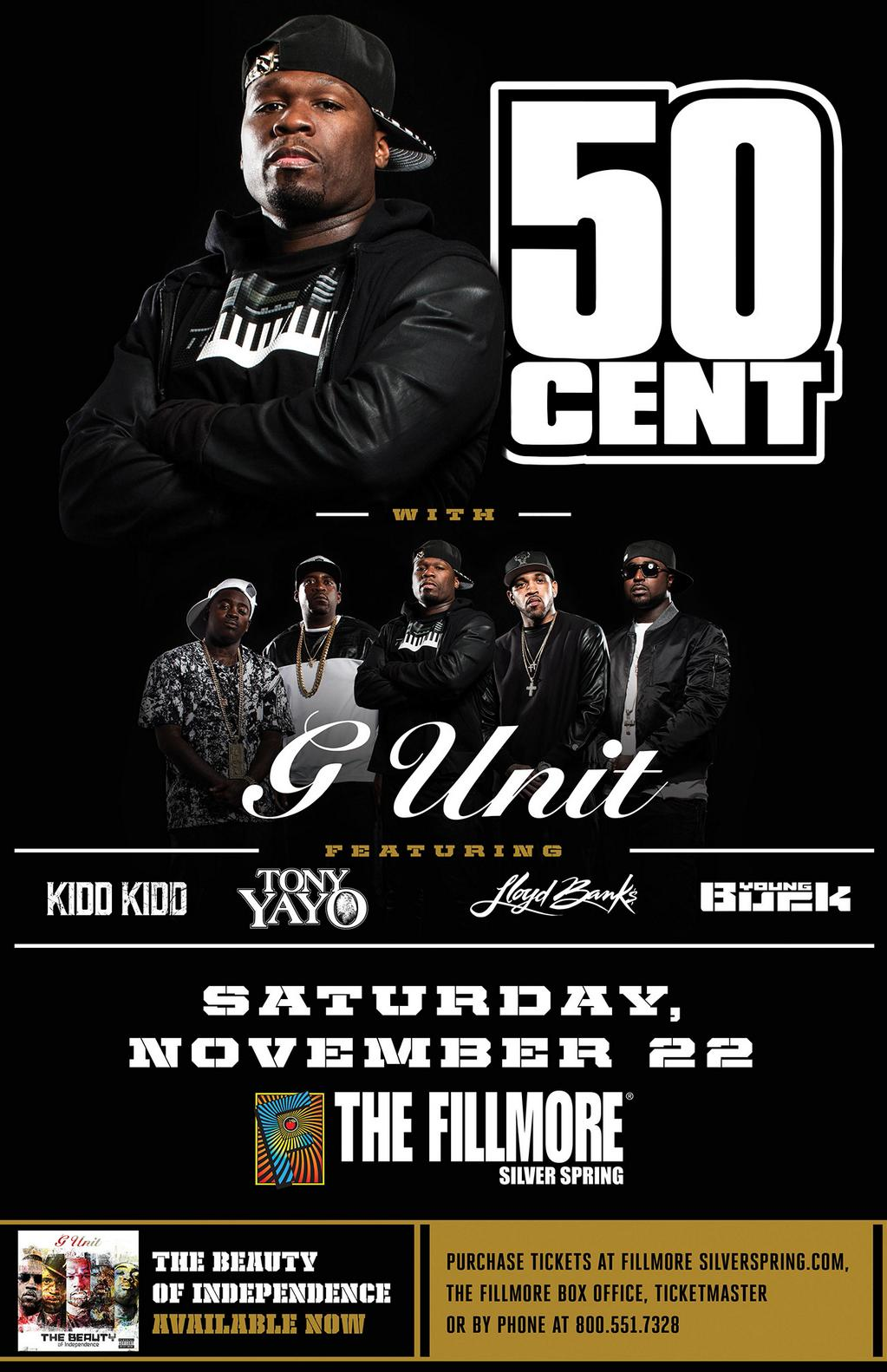 RT @thisis50: Silver Spring, MD!! Don't miss the Unit in your town Nov 22nd! Tickets: http://t.co/7YiKWUpTLC http://t.co/4XYRPbYXgD