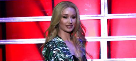 #IggyAzalea gets curvy at the #VictoriasSecret bash despite the 'Perfect Body' controversy! http://t.co/Mrgfo33vsP http://t.co/AVu7jbYNo9