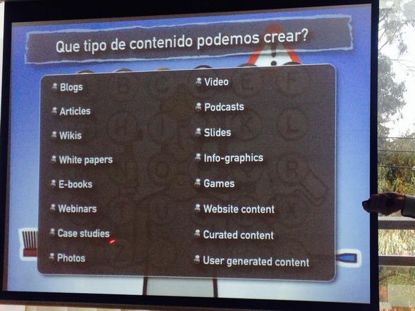 Cuanto contenido puedo crear?? R:Infinidad... taller #credibilidaddemarca mucho aprendizaje!!!