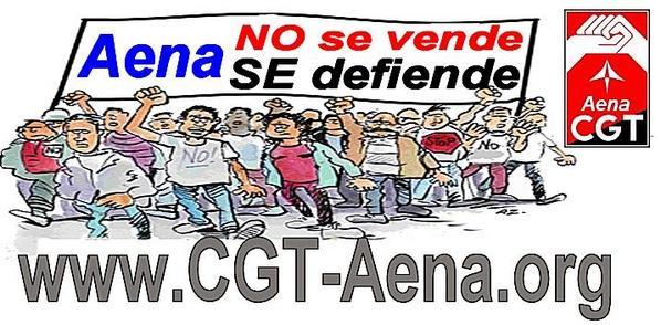CGT pide a FACUA su implicación por un DORA de Aena Público y Socia
