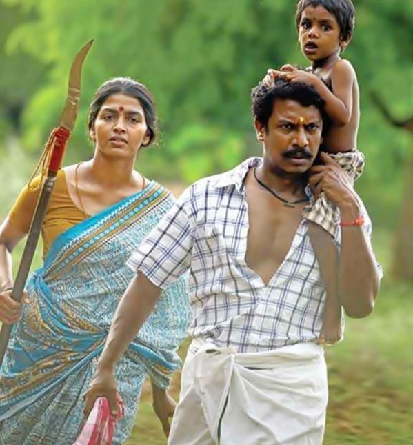 """CineCluster على تويتر: """"#Dhanshikaa & #Samuthirakani stars #Kitna Movie  Still Stills Vithiyasama Erukku.. Padam Puthusa Erukum Nu Ninaikuran  http://t.co/sE0zIVPLc3"""""""