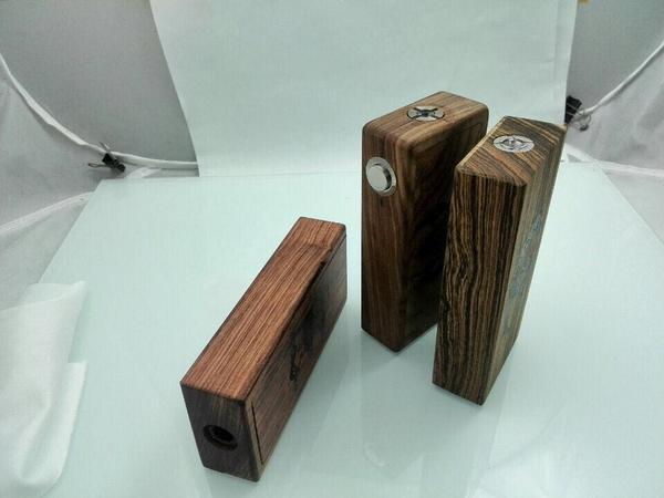how to build a wooden vape mod