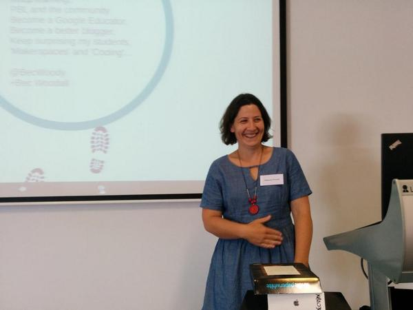 Bec Woodall @becwoody shares for Team Innovate Regional at #TL21C. #vicpln #edtech http://t.co/hp83eXIzhG