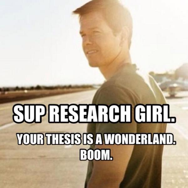 """I can't with this """"Research Wahlberg"""" page on Facebook. :) LMAO. Love it! http://t.co/h3QYzEjBr3"""