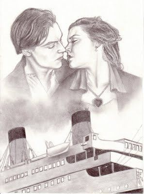 Dibujos I On Twitter Jack Y Rose Titanic Httptco