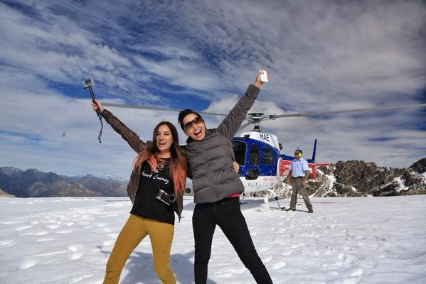 It's the best time of the day! Have fun with best friend trying Helicopter ride experience in Milford Sound! http://t.co/IKVh7G2DwO