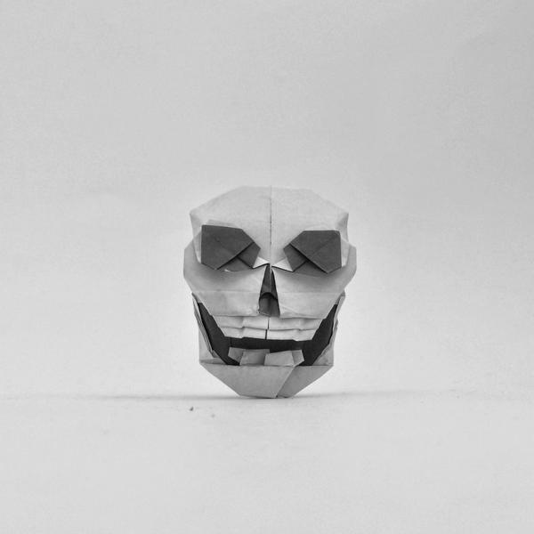 Ross Symons On Twitter 303365 Origami Skull Designed By