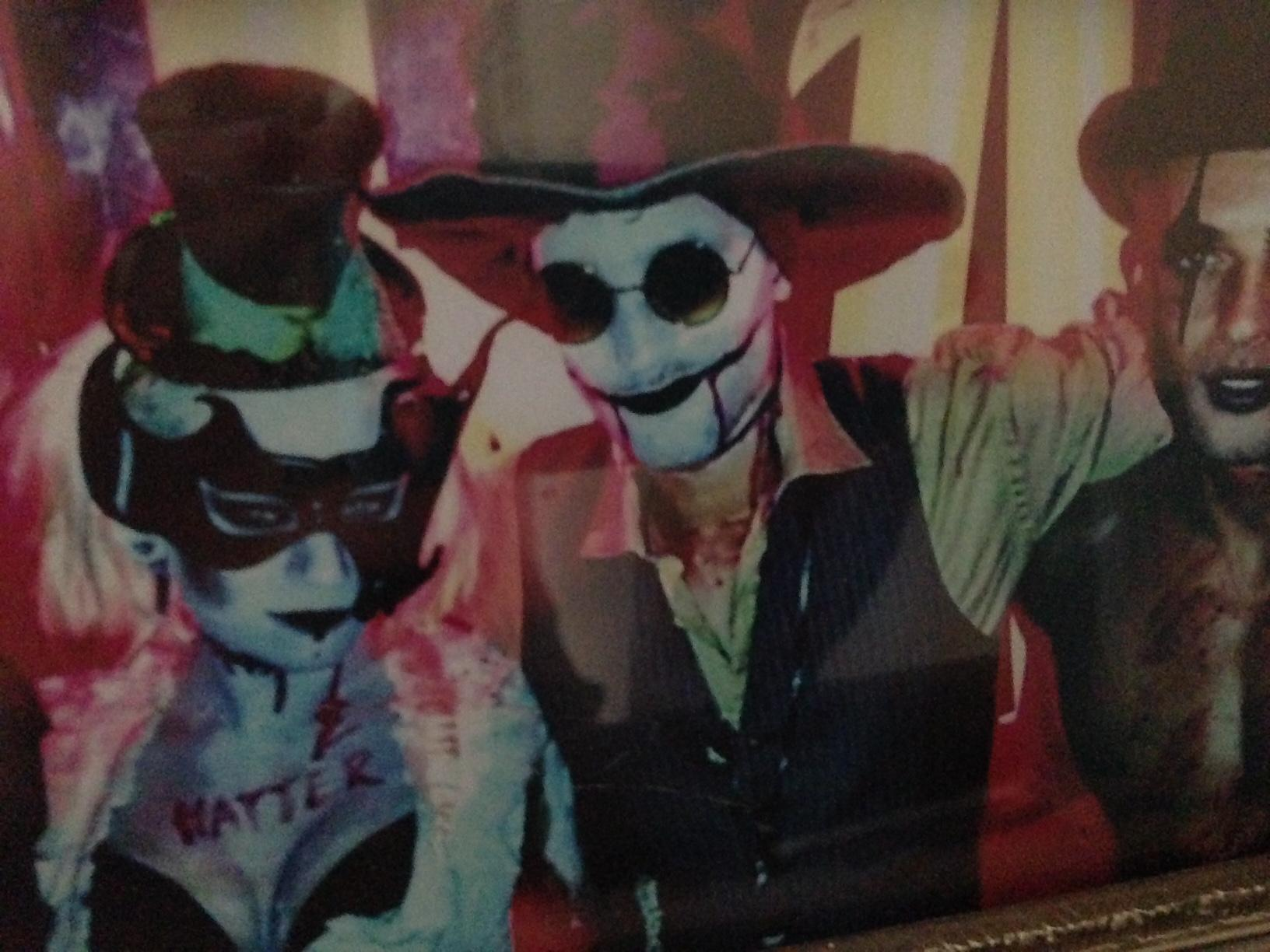 Me and @max_rogers as Mr & Mrs Mad Hatter! 2012 #fbf  at the best Halloween party around, gutted to miss it this year http://t.co/z7CGj92Mg5