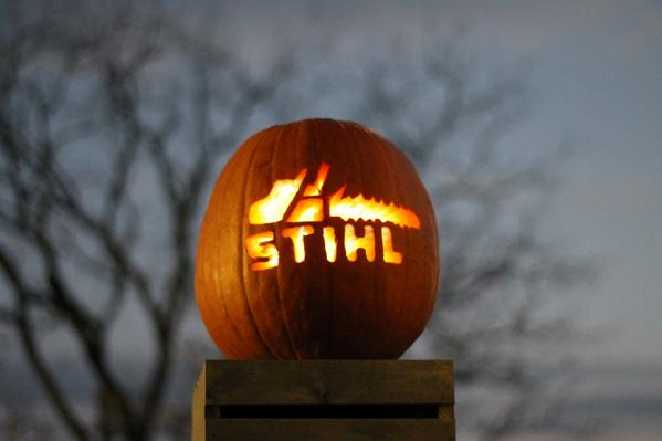 Happy Halloween (photo from Robert A) RT for a chance to #win a STIHL prize thru 2pm today | U.S. only #giveaway http://t.co/kA5M6SZ4EB