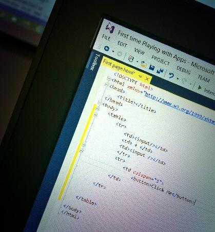HTML and JavaScript