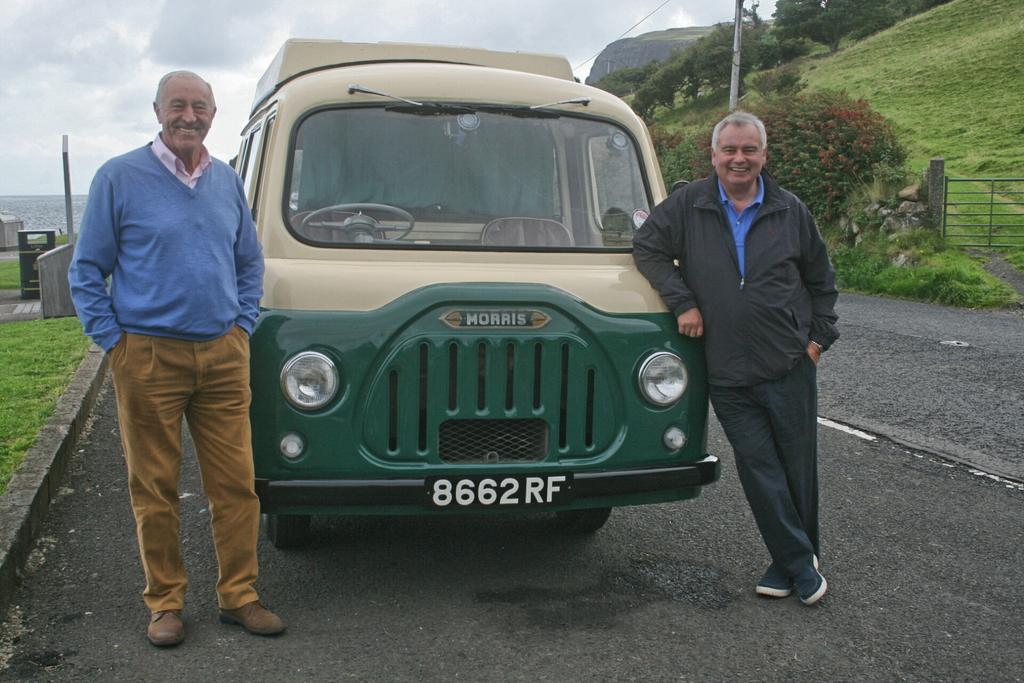 RT @EamonnHolmes: We drove a Van like the one my Dad had as a Carpetfitter -great trip down memory lane. Holiday of a Lifetime @BBCOne http…