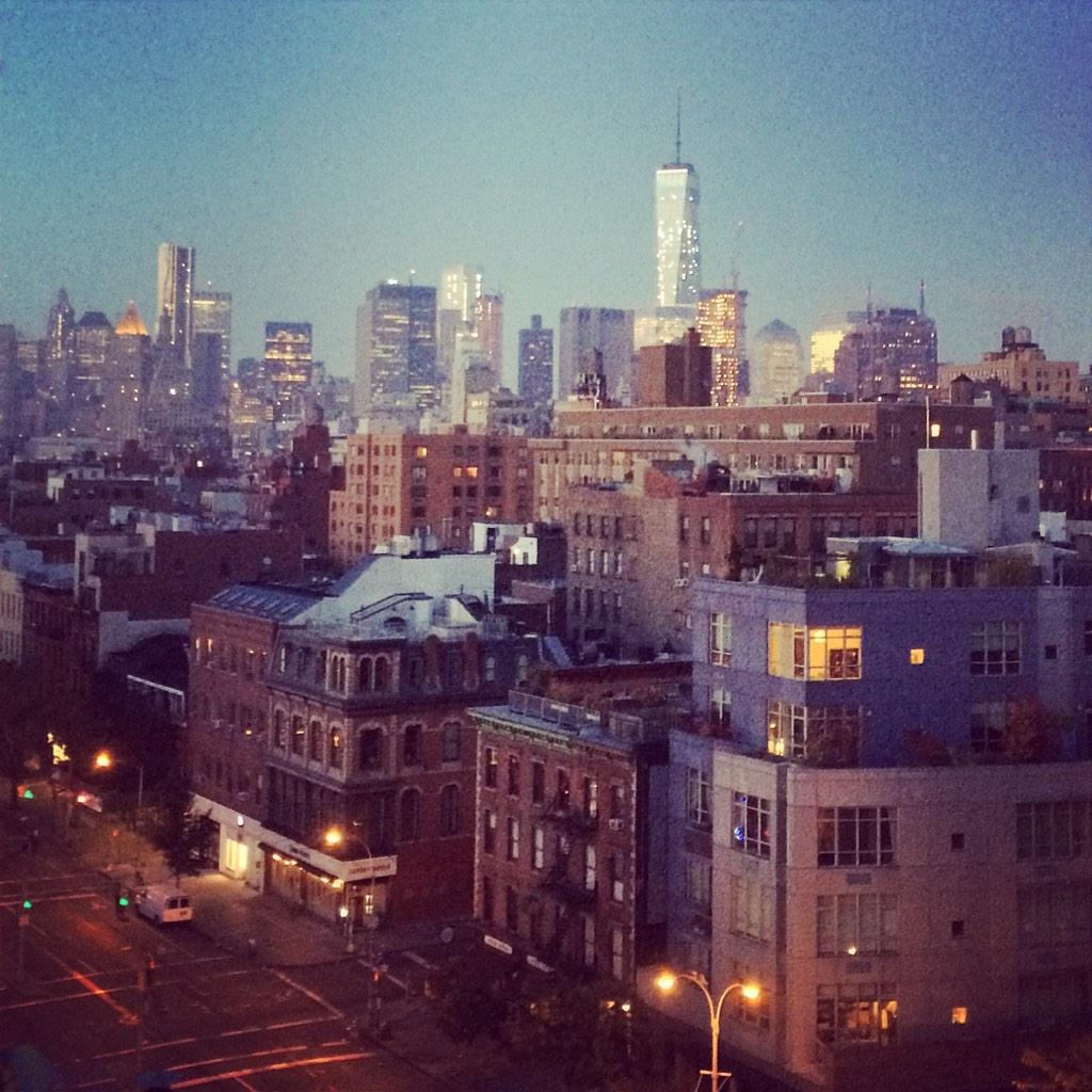 NYC, from dusk till dawn http://t.co/rkIXH1afWa
