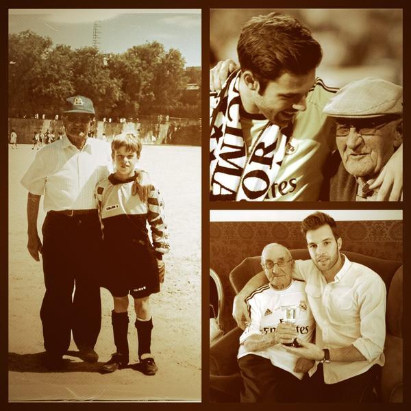 Siempre estuviste a mi lado, ahora te has ido, pero lo seguirás estando.Siempre en mi. DEP Abuelo #abuelodechampions http://t.co/v3Zq8M1heX