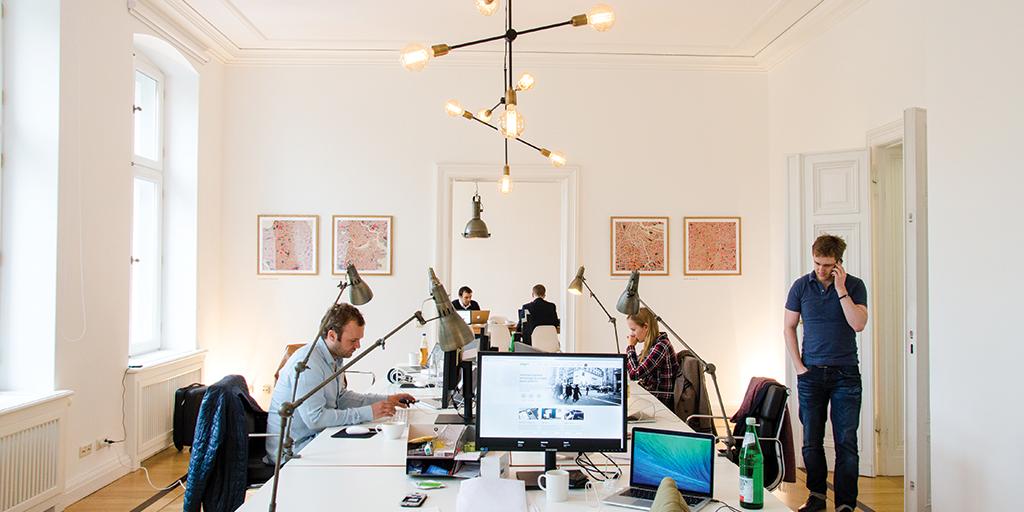 Adyen's Berlin office