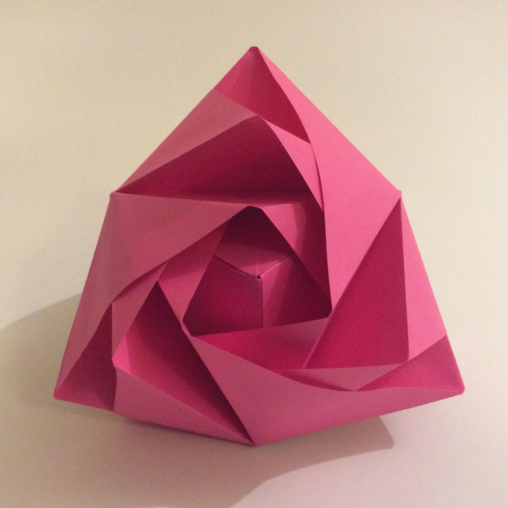 How to Fold a Transforming Origami Rose Box: 15 Steps | 1024x1024