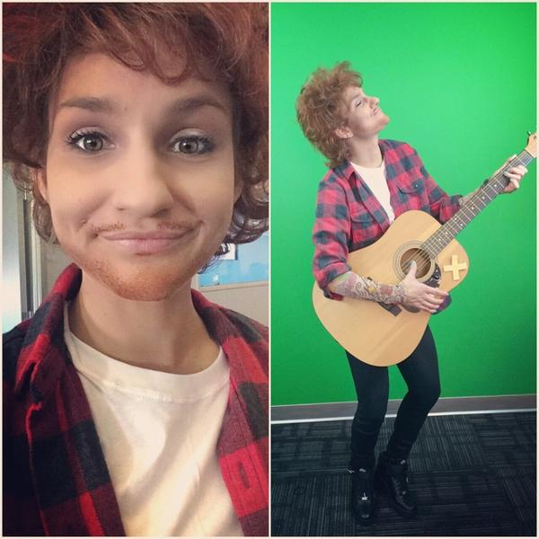 costume Ed sheeran halloween
