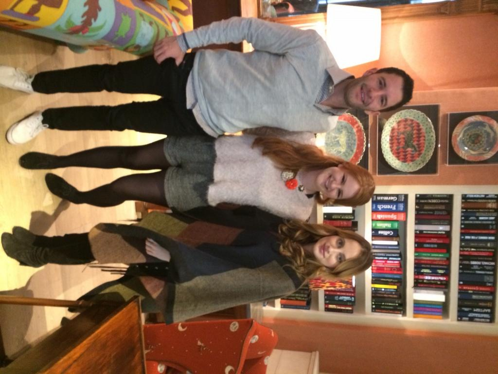 RT @HonchoPR: The lovely @brittaoboyle with Tim Weingarten CEO of @thehunt and @RosieFortescue UK Ambassador for #TheHuntUK launch http://t…