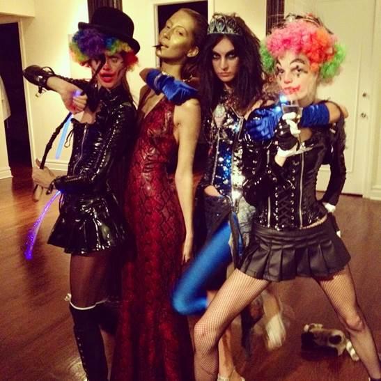 RT @CRFASHIONBOOK: Happy Halloween from CR & @JLJablonski, @hannegabysays, #AlanaZimmer and #KasiaStruss: http://t.co/ZTHgU2Uwa7 http://t.c…