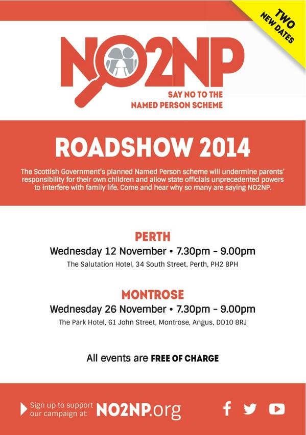 no2np roadshows