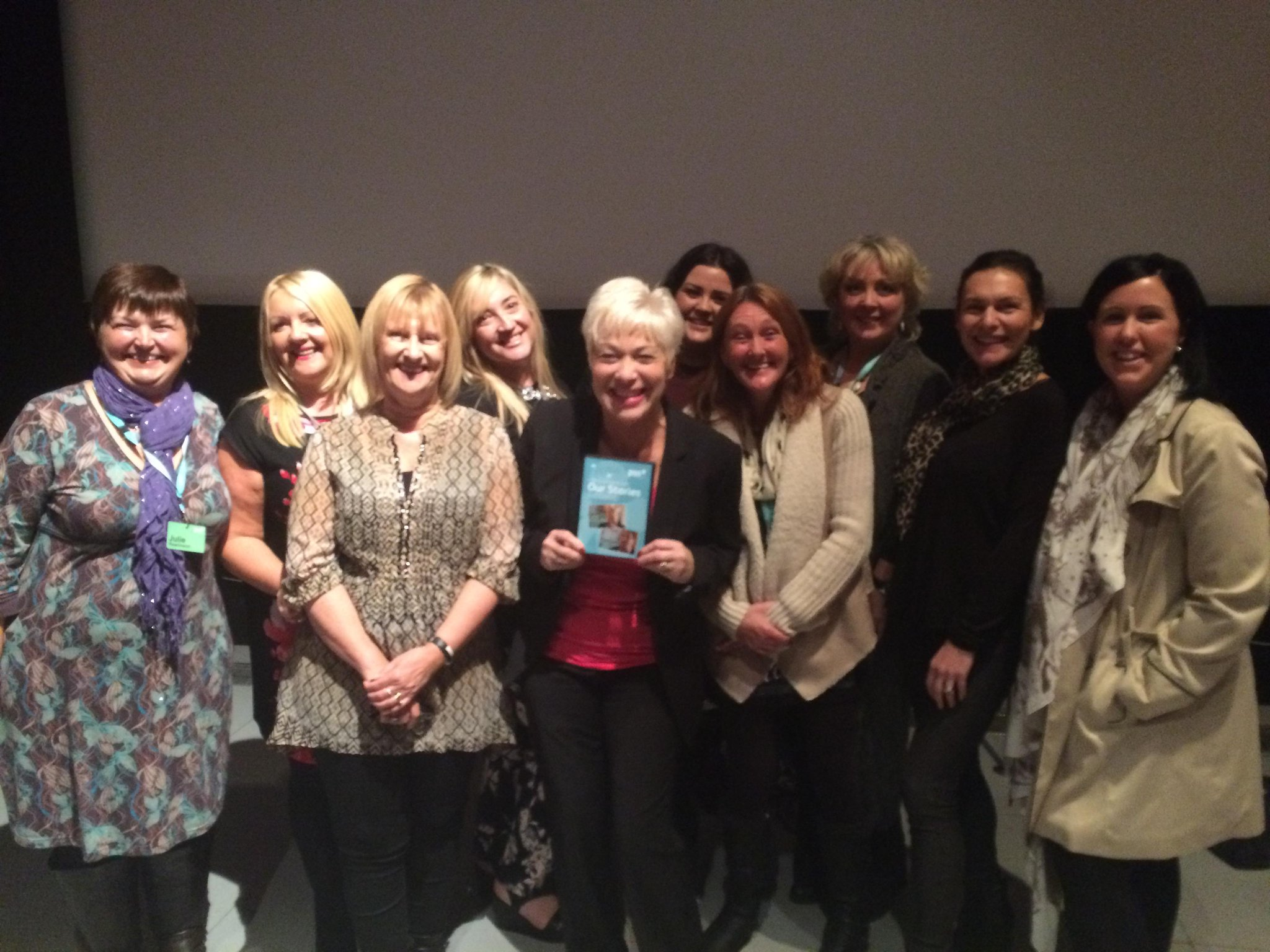 RT @paulinemc2: @psspndproject DVD launch. Our team and the lovely @realdenisewelch yesterday xxx http://t.co/GEDDgxuInL