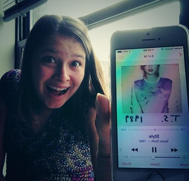 I could show you incredible things. #TS1989  #taylurking http://t.co/e5O71FBPyv