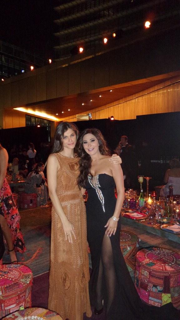 RT @elissakh: With the inspirational and stunning @elisasednaoui glad we finally met #VFDE http://t.co/LXrcU6mhVk