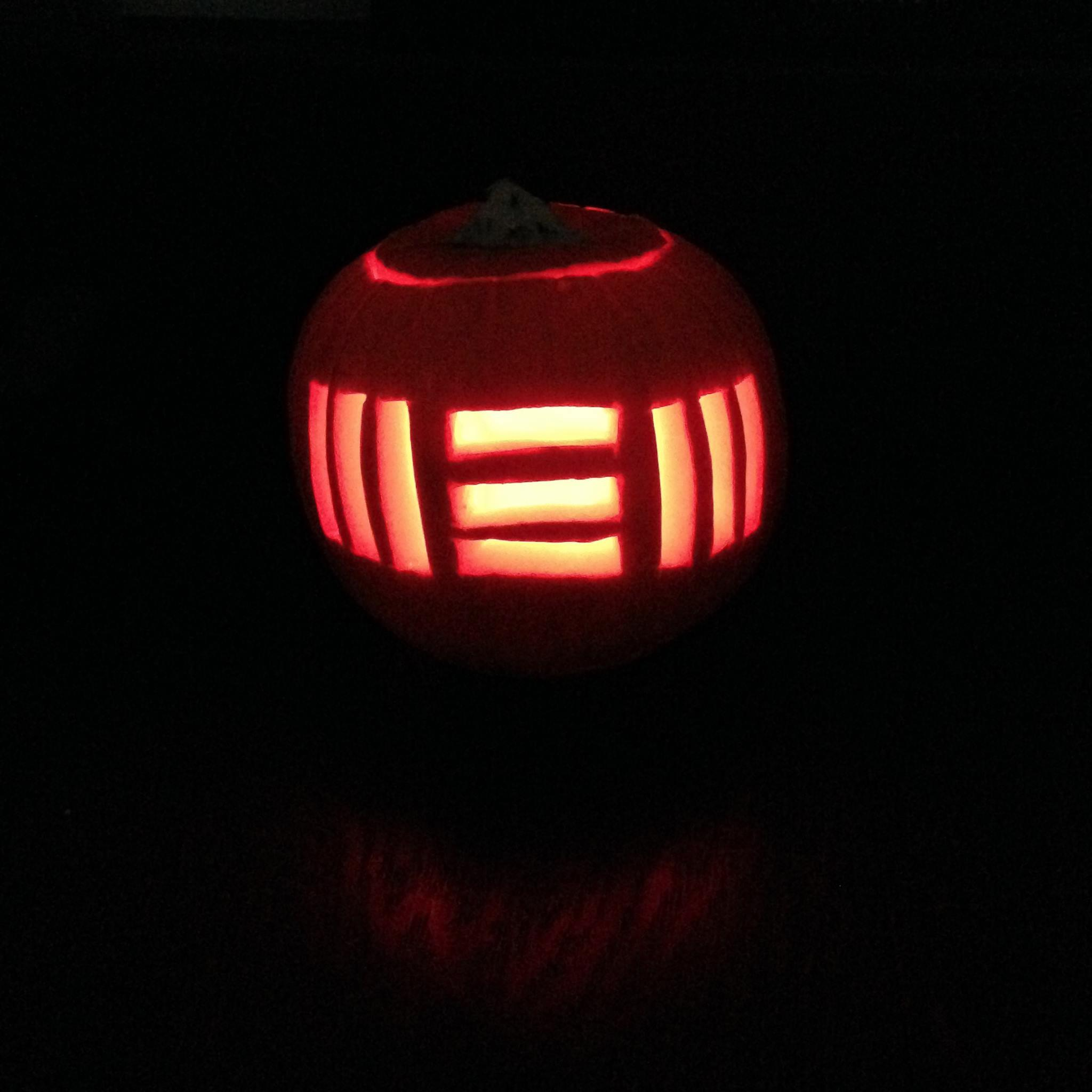 #HappyHalloween Here's our pumpkin from last year made for Paul's NEW album. What's on your pumpkin this year? #FBF http://t.co/Zc7BdZBIky