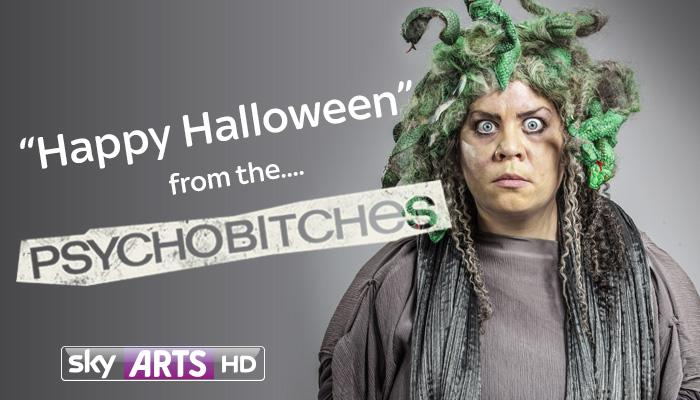 RT @SkyArts: .@KatyFBrand went for the Greek look this Halloween... http://t.co/0Lm2vH4JXB