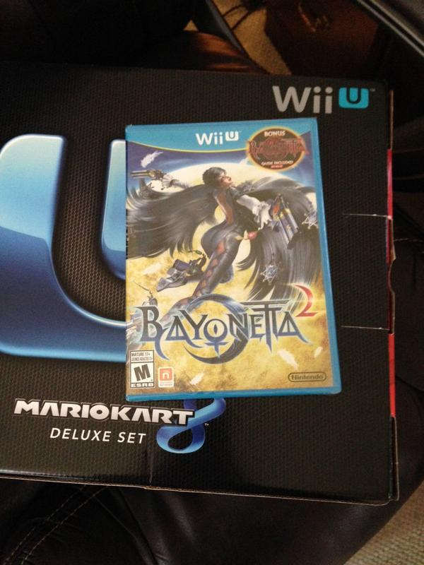 Bayonetta 2 is a system seller, and don't let anyone tell you different. http://t.co/jkbqIpfL4f