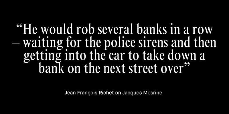 This French bank robber kidnapped billionaires, dated models and posed on mag covers: http://t.co/r2Ryc09Y9I #cultvip http://t.co/mw3KeEI6YA