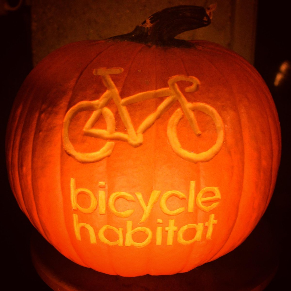 Happy Halloween from all of us at Bicycle Habitat! #bikenyc http://t.co/e9mE5mrD9Q