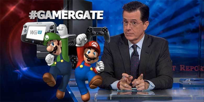 Stephen Colbert Takes On Gamergate With Anita Sarkeesian http://t.co/XcchJh0YQi http://t.co/lzHnPAMEjt